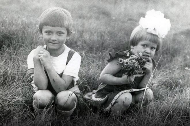 Евгения Васильева в детстве