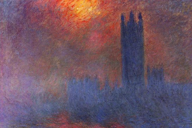 Картина Клода Моне «Туман в Лондоне»