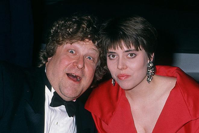 Джон Гудман с женой