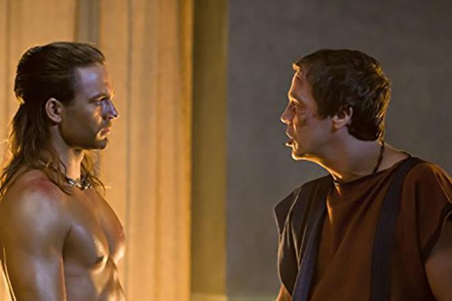 Дастин Клер в сериале «Спартак: Боги арены»