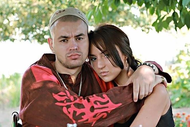 Рем Дигга и его девушка