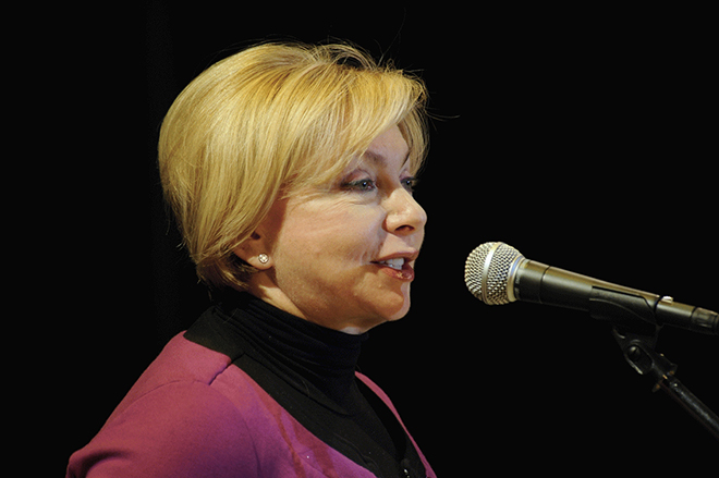 Певица Татьяна Никитина