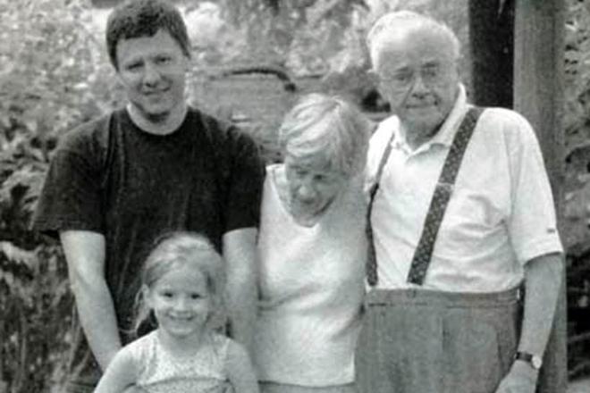 Станислав Лем с семьей