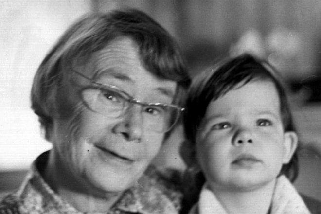 Ирина Мурзаева с внучкой Катей