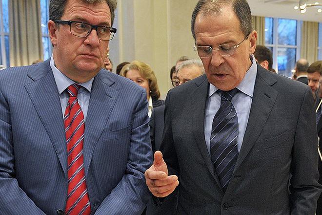 Сергей Приходько и Сергей Лавров