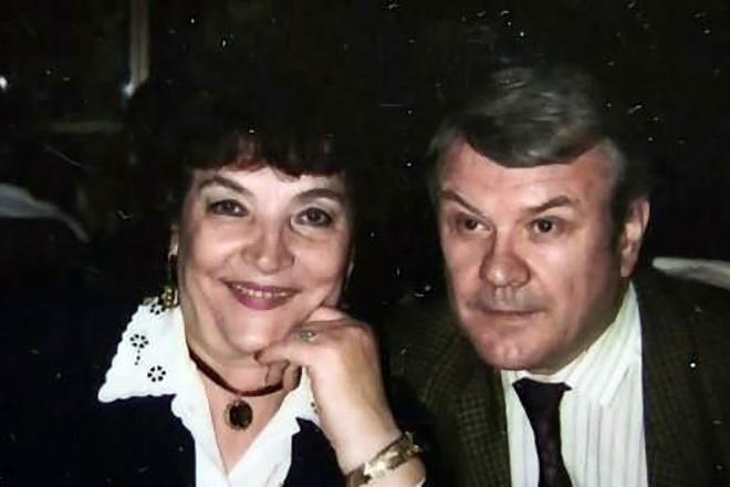 Ольга Воронец и ее муж Владимир Соколов