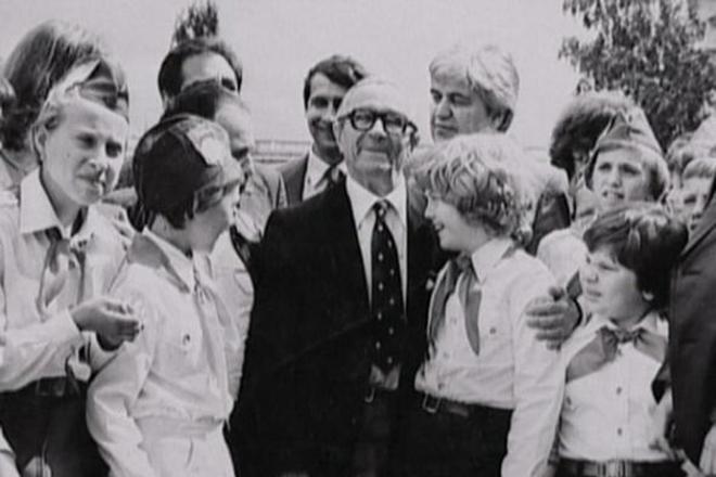 Георгий Милляр любил детей