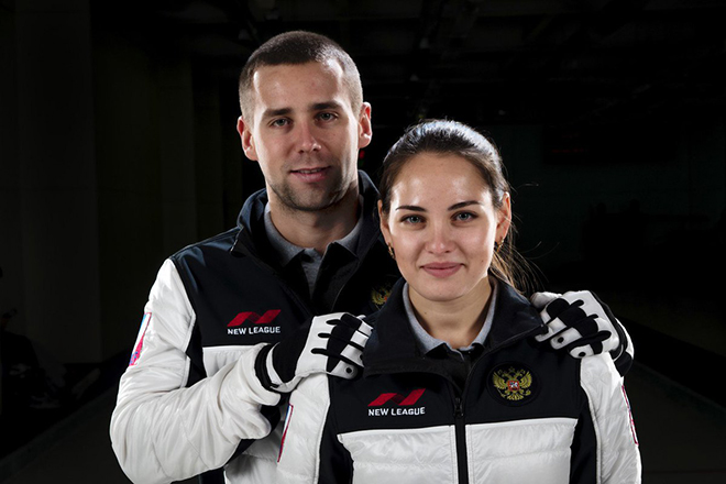 Анастасия Брызгалова и Александр Крушельницкий в 2018 году