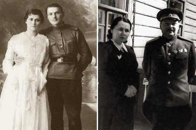 Андрей Жданов с женой