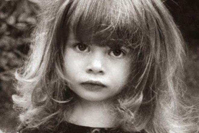 Настасья Кински в детстве