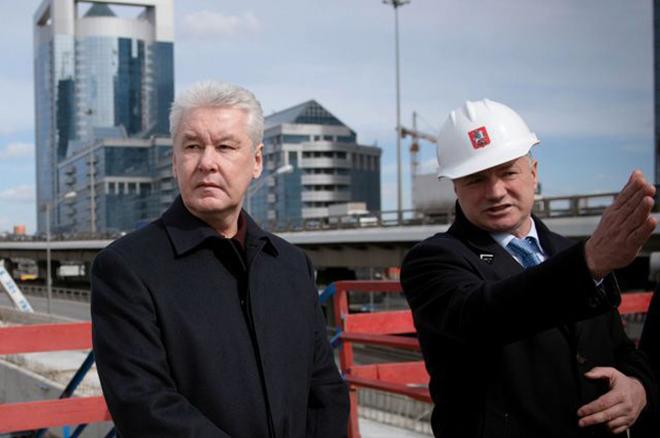 Сергей Собянин и Марат Хуснуллин