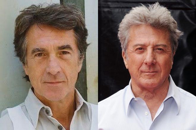 Франсуа Клюзе и Дастин Хоффман