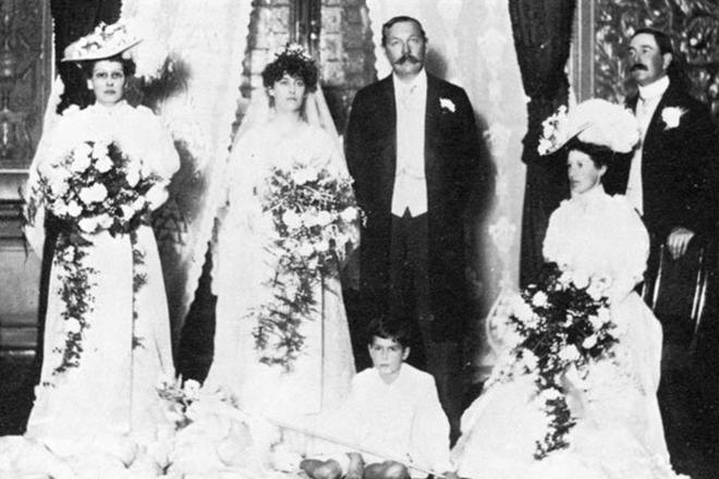 Свадьба Артура Конан Дойля и Джин Лекки