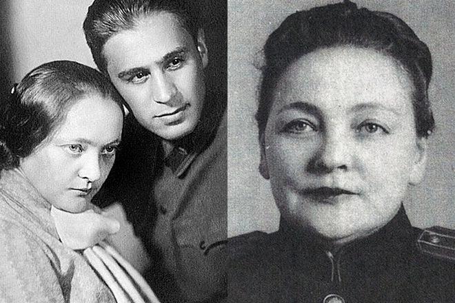 Павел Судоплатов и его жена Эмма
