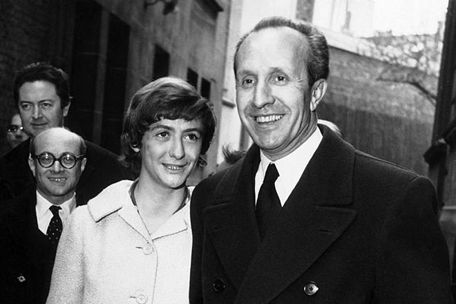 Франсуаза Саган и ее первый муж Ги Шеллер