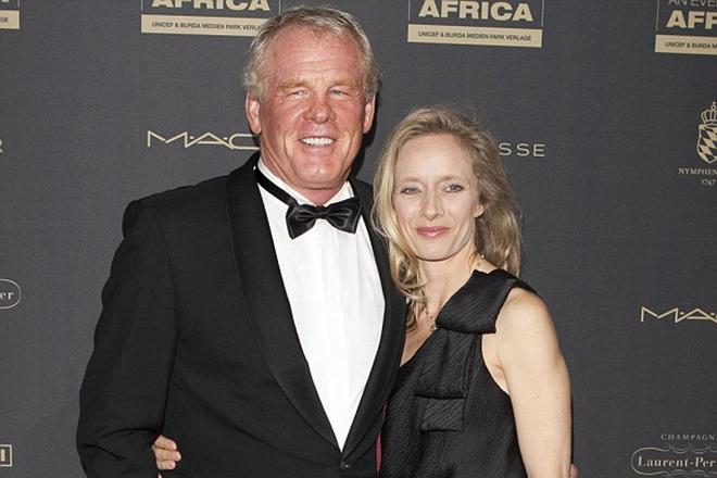 Ник Нолти и его жена Клайти Лэйн