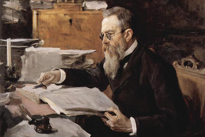 Портрет Николая Римского-Корсакова