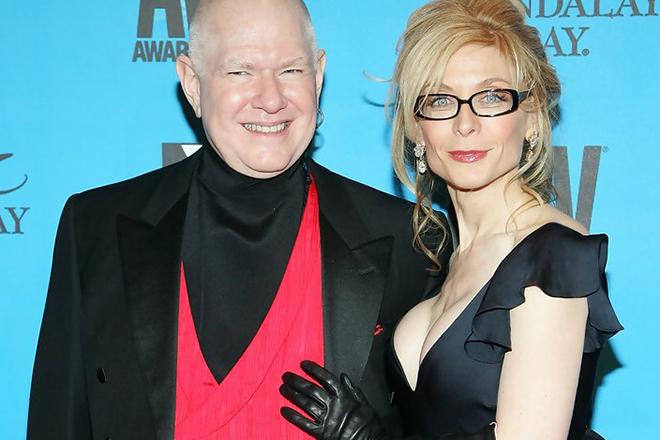 Нина Хартли с мужем