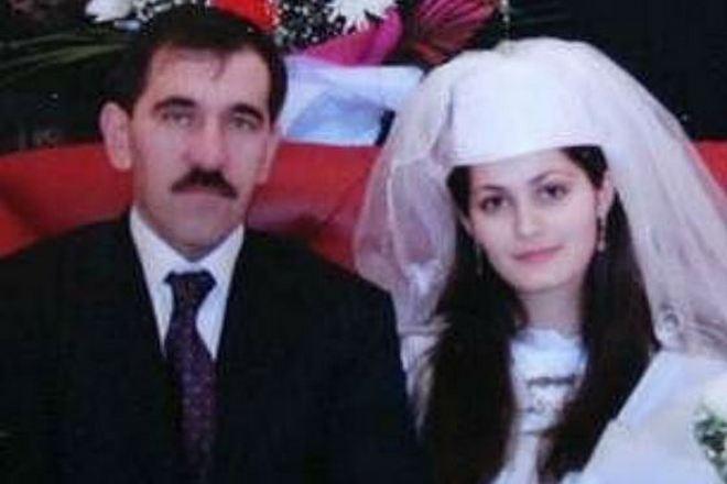Юнус-бек Евкуров и его жена
