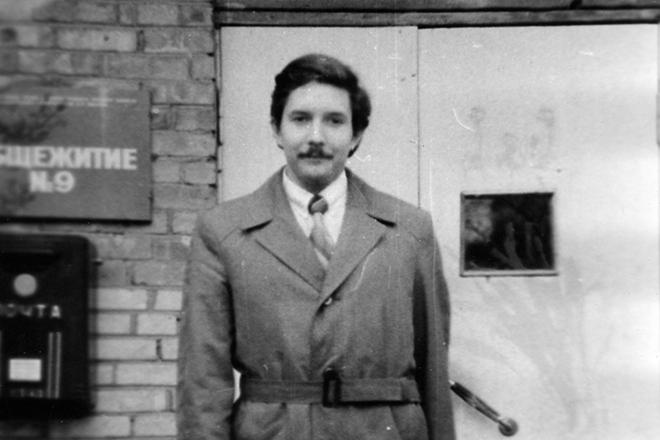 Депутат Сергей Бабурин в молодости
