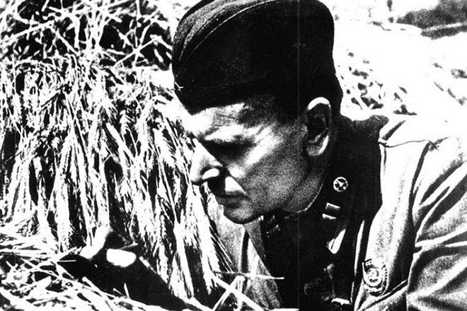 Константин Паустовский на войне