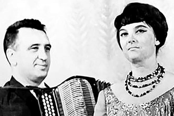 Рафаил Бабков и Ольга Воронец