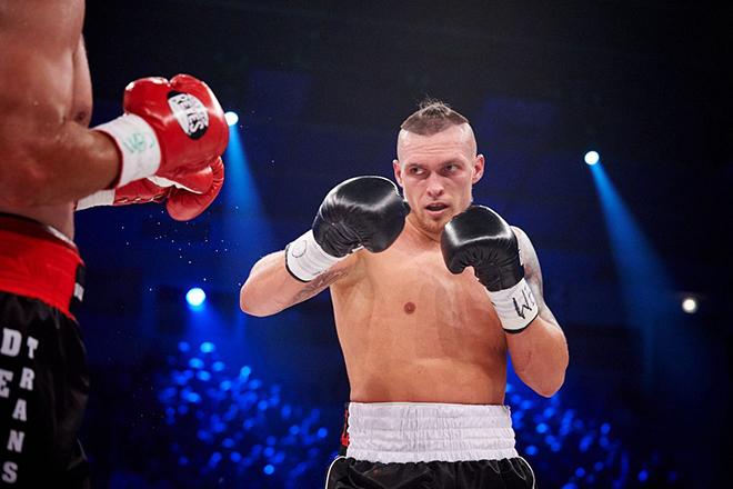 Александр Усик на ринге
