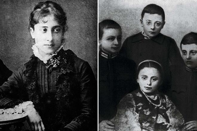Жена и дети Ивана Франко