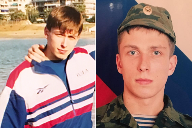 Дмитрий Клоков в молодости