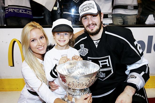 Вячеслав Войнов с семьей