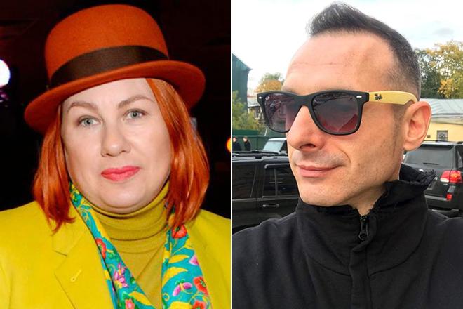 Ева Польна и Юрий Усачев в 2018 году
