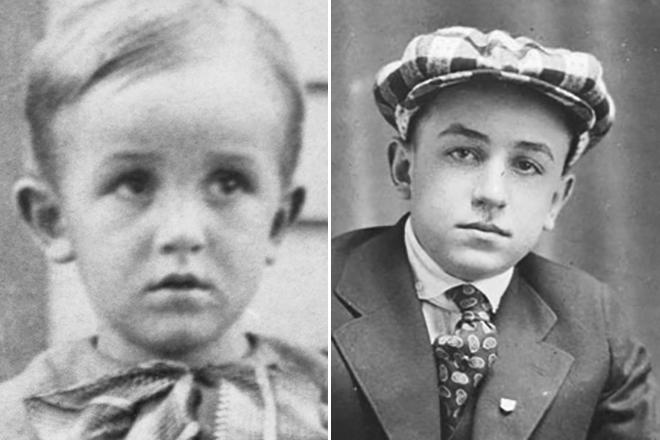 Уолт Дисней в детстве и юности