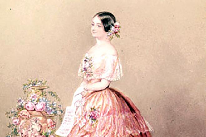 Генриетта Халупецкая, первая жена Иоганна Штрауса
