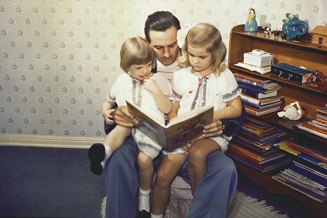 Уолт Дисней и его дети