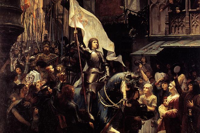 Народная героиня Жанна Д'арк