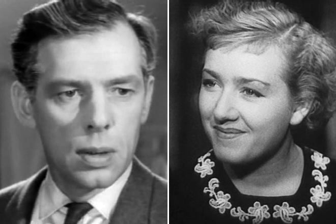 Георгий Жженов и Евгения Голынчик