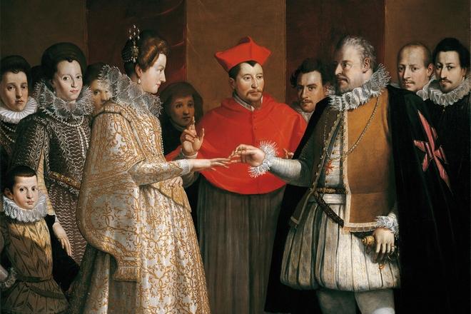 Свадьба Екатерины Медичи и Генриха II