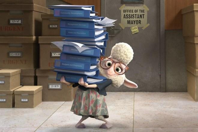Дженни Слейт озвучила овцу мисс Барашкис в «Зверополисе»