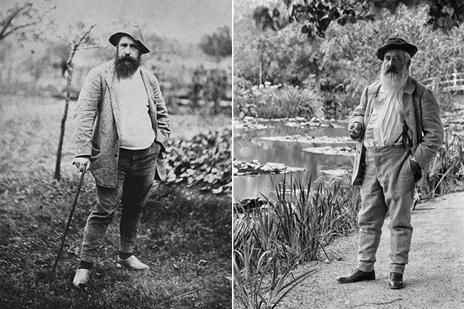Клод Моне создал собственный сад