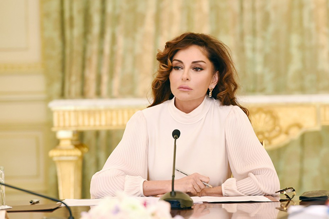Мехрибан Алиева сейчас
