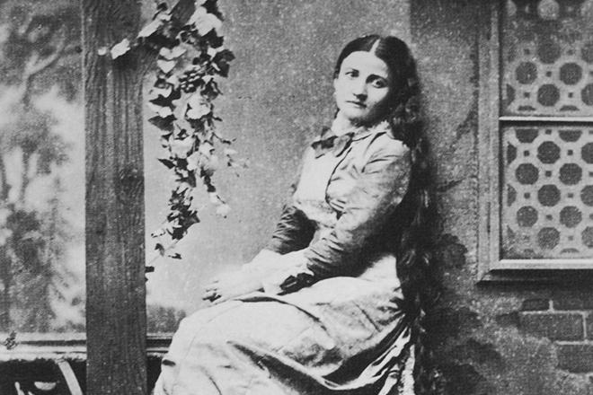 Анжелика Дитрих, вторая жена Иоганна Штрауса