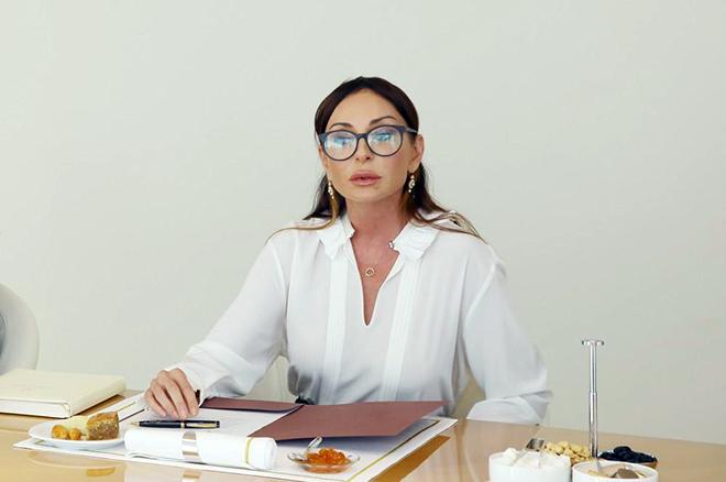 Общественный деятель Мехрибан Алиева