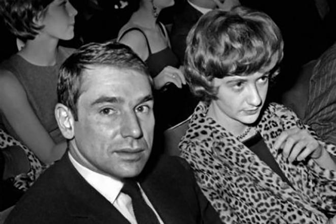 Франсуаза Саган и ее второй муж Роберт Уэстхофф