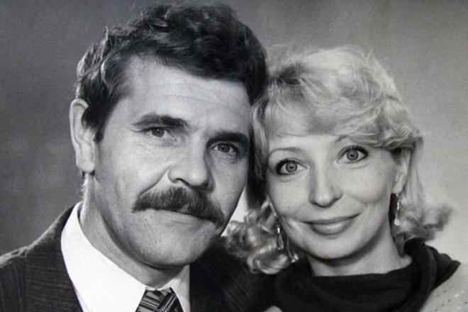Алексей Булдаков женой Людмилой
