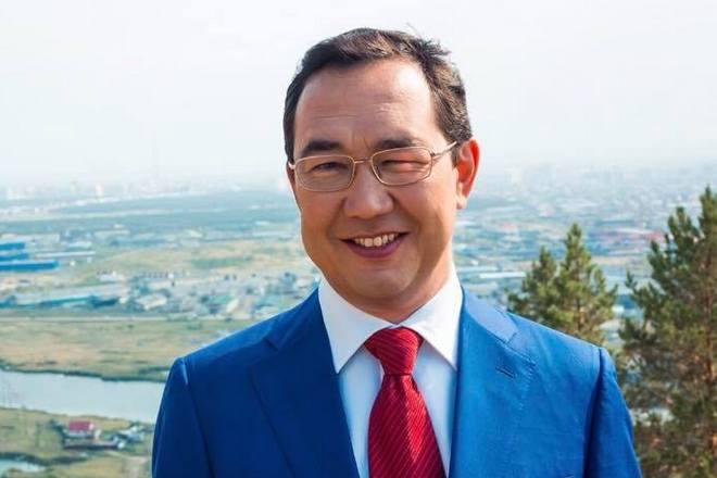 Айсен Николаев в 2018 году