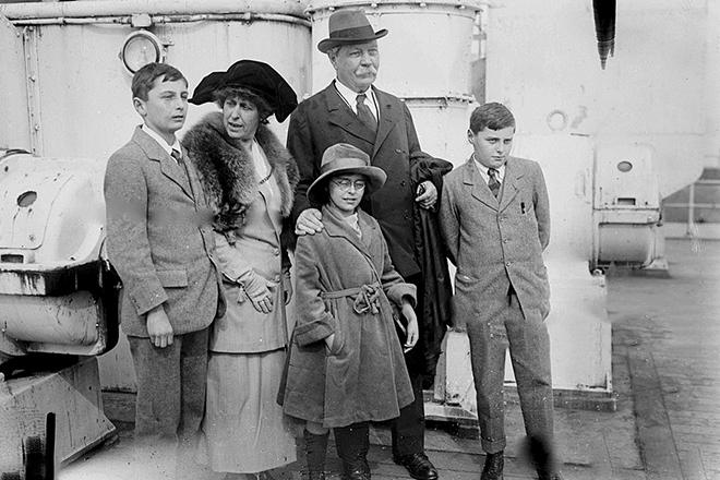Семья Артура Конан Дойля