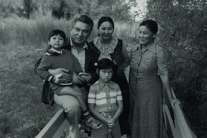 Вторая семья Чингиза Айтматова