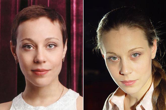 Анна Дубровская в молодости