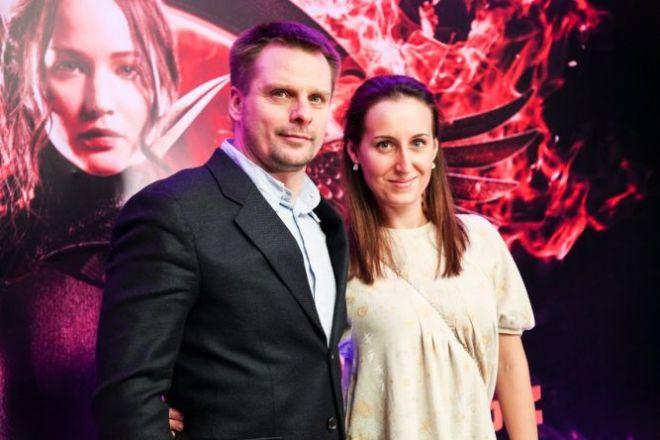 Александр Носик с бывшей супругой