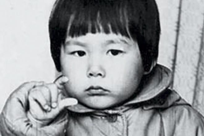 Анита Цой в детстве